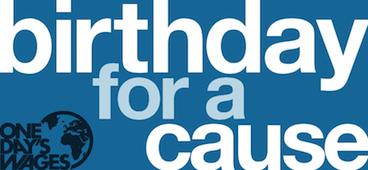 BirthdayforaCause